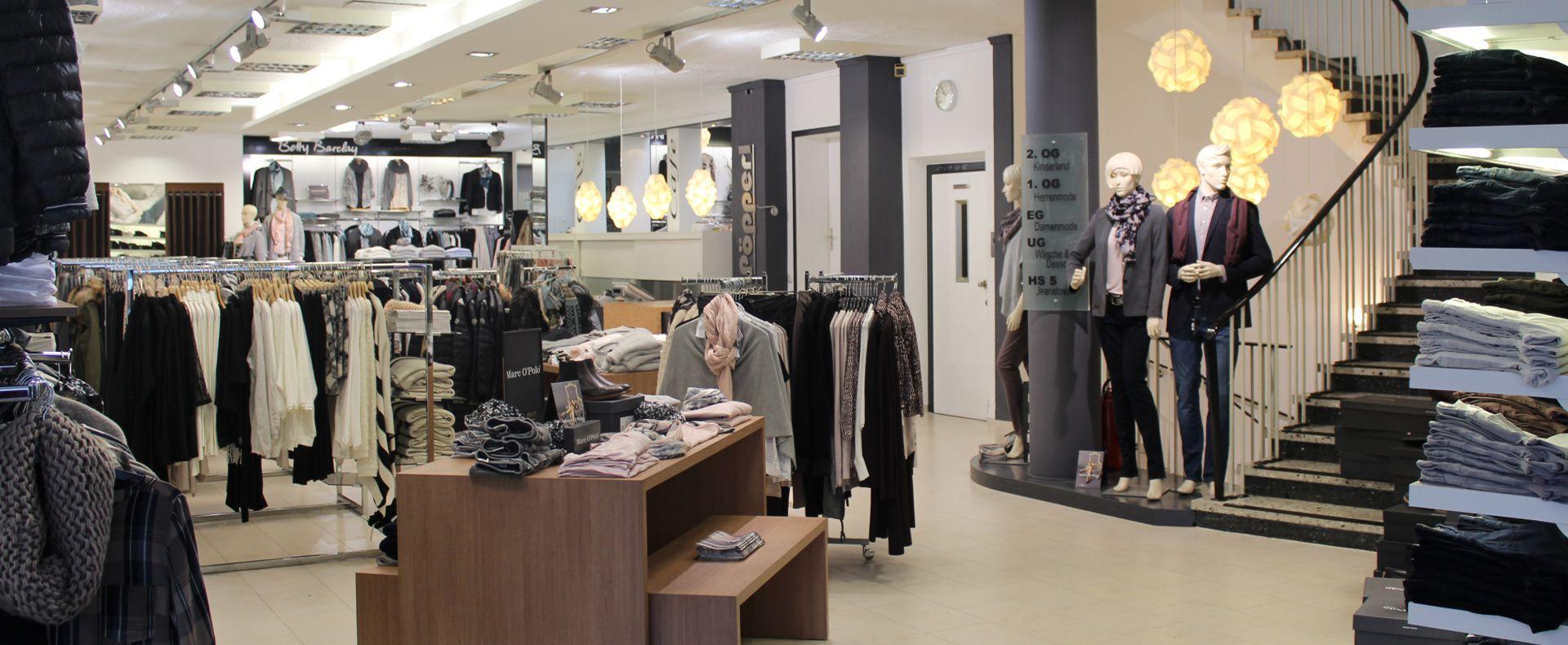 Damenabteilung Modehaus Pöpperl Naila