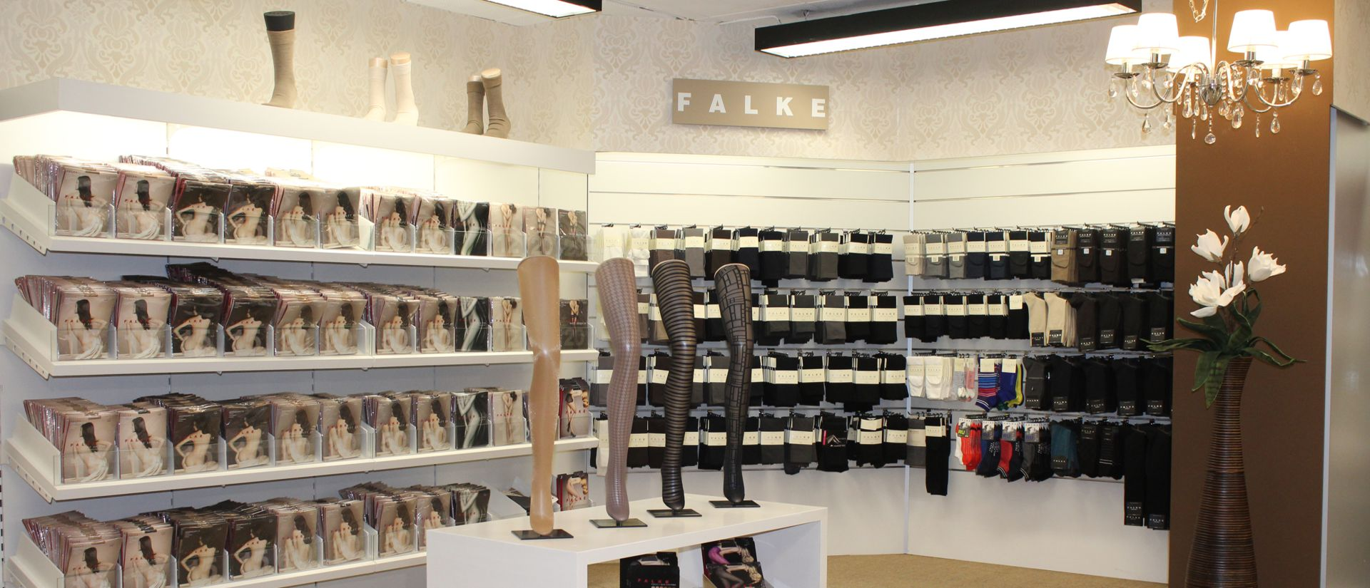 Wäscheabteilung Modehaus Pöpperl Naila